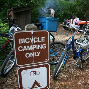 bicycle camping campground