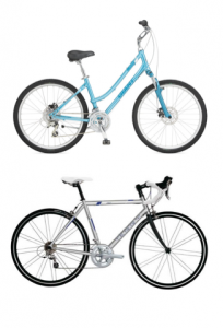 the difference between men and women's road bikes