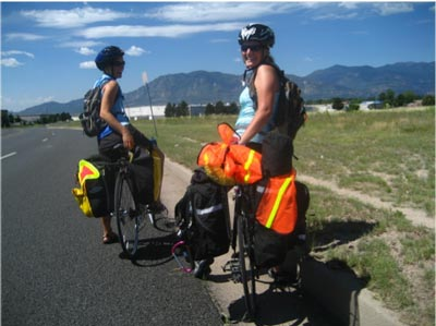 bicycle touring in eastern colorado