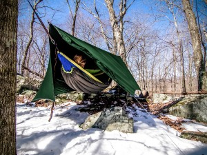 ENO HouseFly offers spacious hammock camping