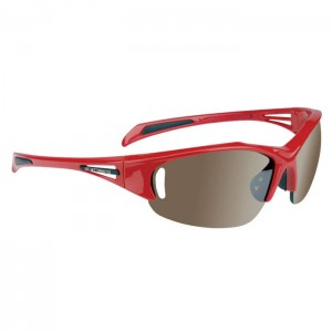 cycling sunglasses in red