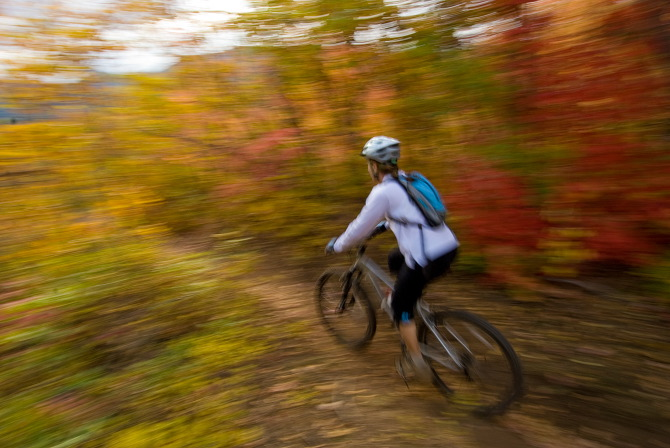 Fall  Bike Trails