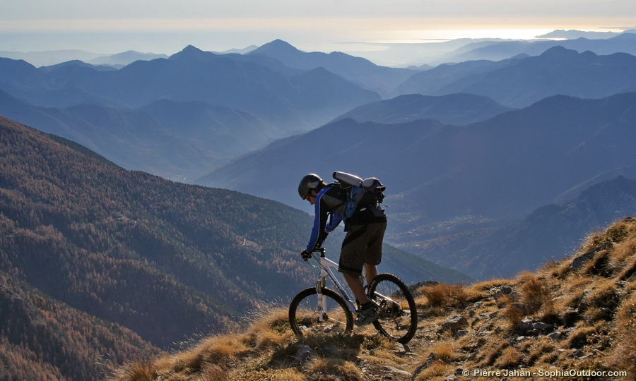 French Riviera Mountain Biking